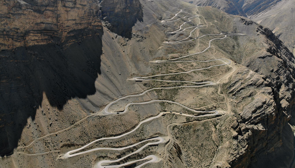 moto4fun motorcycle tours the Gata Loops which is a a roller coaster ride with a series of 22 hairpin bends