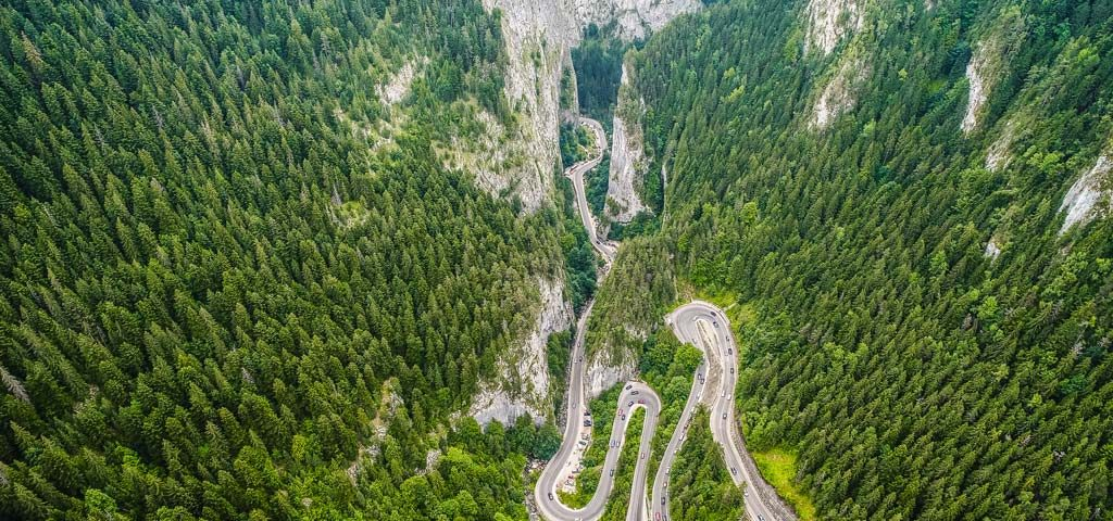 cheile Bicazului motorcycle tour in Romania