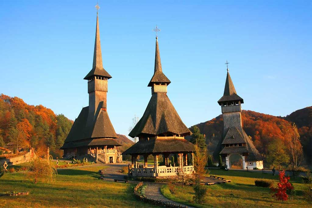 take your motorcycle tour around the north-western part and discover Maramures